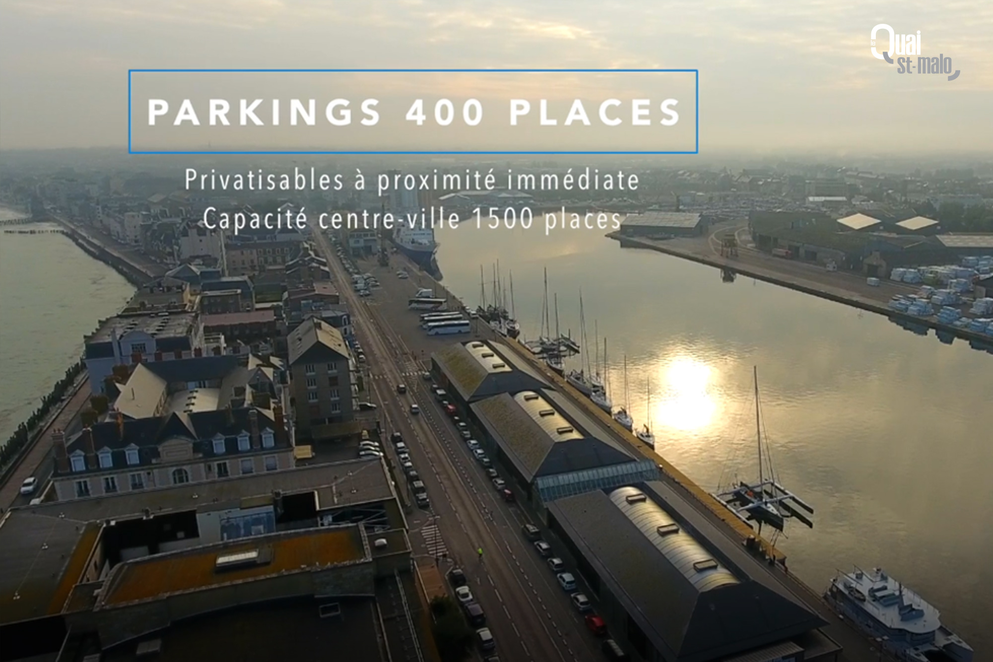 Parking 400 places
