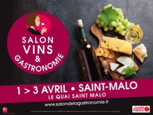 SALON VINS & GASTRONOMIE- DU 1er au 3 AVRIL 2017