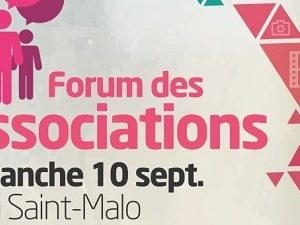 Forum des Associations à Saint-Malo le 10 septembre