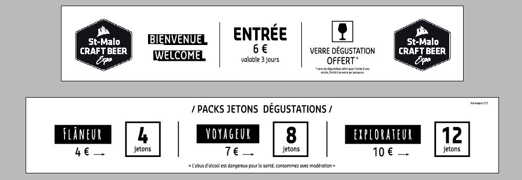 bannière infos pratiques St malo craft beer expo 2018