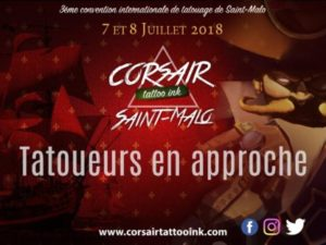 Corsair tattoo ink à Saint-Malo #3