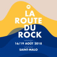 Affiche de La Route du Rock Collection été 2018