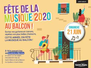 Fête de la Musique Saint-Malo 2020