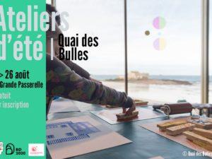 ATELIERS D'ÉTÉ QUAI DES BULLES