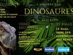 Des dinosaures à St-Malo!