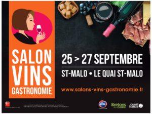 Salon Vins et Gastronomie St-Malo 2021