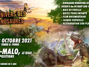 L'univers des dinosaures Saint-Malo